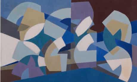 Composition in Blue Module, 1947-51