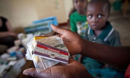 Anti-malaria drugs