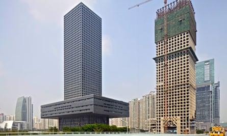 Shenzhen stock exchange building