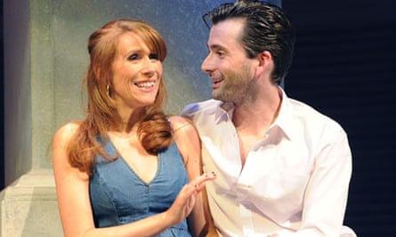 Catherine Tate and David Tennant in Much Ado About Nothing at Wyndhams theatre
