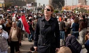 Marie Colvin in Cairo in 2011