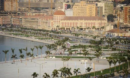 Luanda central business district
