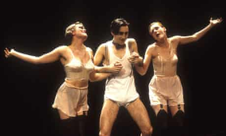 Alan Cumming in Cabaret during the production's original run at the Donmar Warehouse in London.