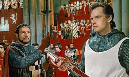 Charlton Heston in El Cid (1961), directed by Anthony Mann