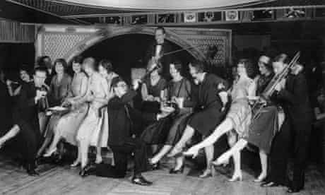 Charleston competition at the Parody Club, New York in 1926