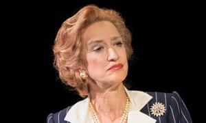 Haydn Gwynne as Margaret Thatcher in The Audience