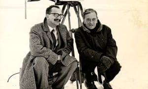Giangiacomo Feltrinelli (left) with director David Lean.