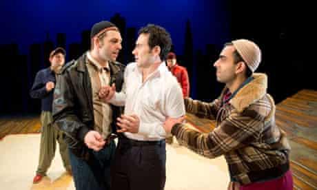 Nicholas Karimi, Ben Turner and Waleed Akhtar in The Kite Runner