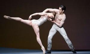 Marianela Nunez and Federico Bonelli in the Royal Ballet's Aeternum