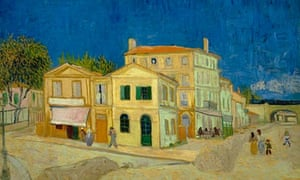Not fade away … Vincent van Gogh's The Yellow House (1888).