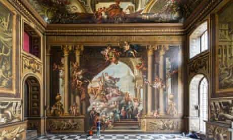 Old Royal Naval College's Painted Hall