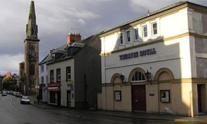 The theatre Royal Dumfries