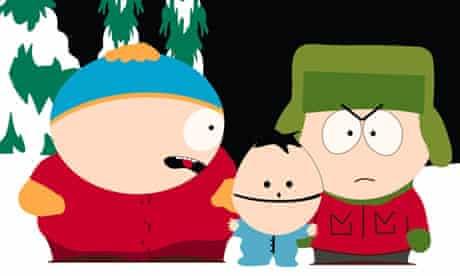 Cartman, Ike and Kyle - South Park