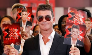 Simon Cowell at the inagural show of The X Factor USA in September 2011.