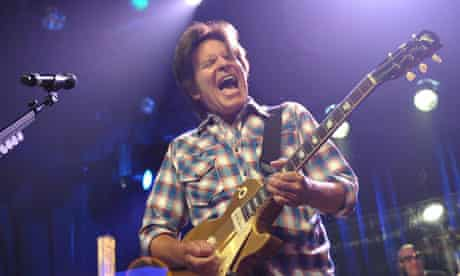 John Fogerty performs on his 68th birthday at the El Rey theatre in LA