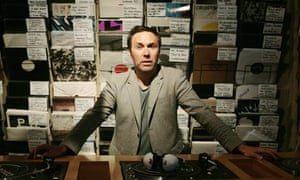 Deller army: Sean Bidder of the Vinyl Factory in Soho, London