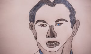 Tony Blair, from a collection of prisoners' art