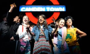 End of the line … Viva Forever! at the Piccadilly theatre, London.