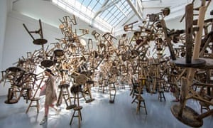 Bang (2013), an Ai Weiwei installation in the German pavilion.