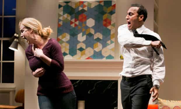 Disgraced, by Ayad Akhtar, at the Lincoln Center, New York