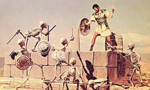 Todd Armstrong and Ray Harryhausen's skeleton crew in Jason and the Argonauts (1963).