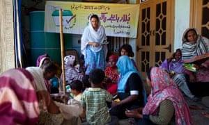 Pakistan women voters
