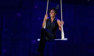Pippin actor Patina Miller performs at the Tony awards