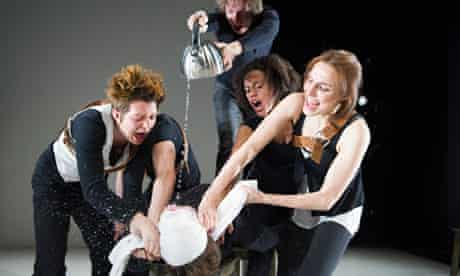 Trash Cuisine by Belarus Free Theatre at the Young Vic, London.