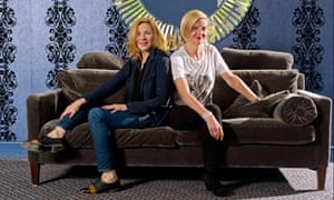Kim Cattrall and Marianne Elliot at the Old Vic, London
