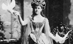 Alva Vanderbilt at Fancy Dress Ball