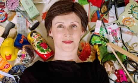 Emma Beddington - surrounded by clutter