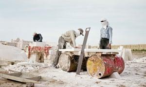 Uzbek migrant workers in Kazakhstan