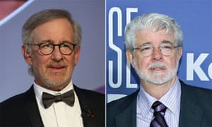 Steven Spielberg and George Lucas were speaking at the University of Southern California.