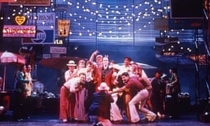 Back in town … Miss Saigon at the Theatre Royal, Drury Lane, London, in 1989.