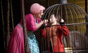 Susan Bickley and Claudia Huckle in Hansel und Gretel by Garsington Opera at Wormsley