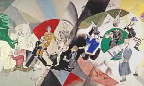 Marc Chagall, Introduction to the Jewish Theatre (1920)