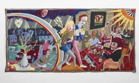 Grayson Perry tapestry, Expulsion From Number 8 Eden Close