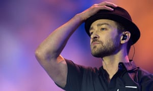 Justin Timberlake at the Yahoo! Wireless festival in London