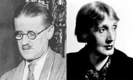 Virginia Woolf and James Joyce