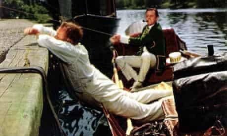 Three Men in a Boat, film still from 1956