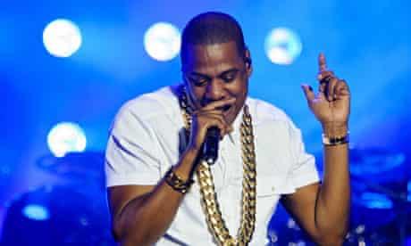 Jay-Z at Yahoo! Wireless Festival - Day 2