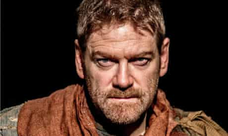Kenneth Branagh in Macbeth at the Manchester international festival