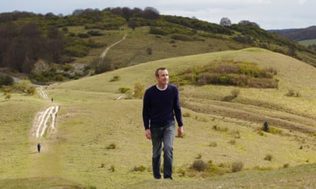 Author Robert MacFarlane walks along ancient pathways in the Chilterns