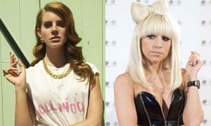 Lana Del Rey and Lady Gaga