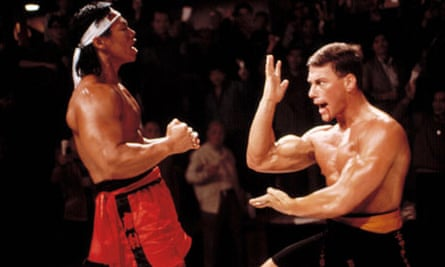 Bolo Yeung and Jean-Claude Van Damme in Bloodsport, 1988