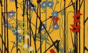 Detail from Flowers o' the Corn by Edward McKnight Kauffer