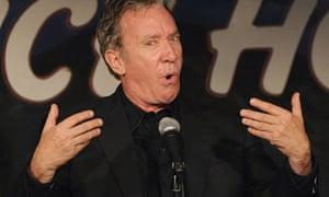 Comedian and actor Tim Allen performs in Pasadena, California