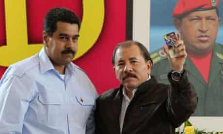 Ortega and Maduro