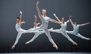A scene from Boston Ballet's performance of The Second Detail