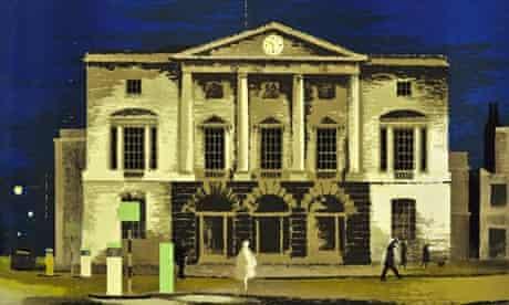 Lynton Lamb, The Shire Hall